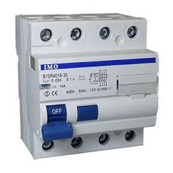 Inter diff 4 pôles 30 mA - 10KA - type AC