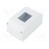 Coffret 4 modules saillie